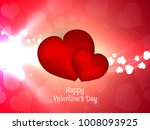 abstract happy valentine's day... | Shutterstock .eps vector #1008093925