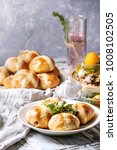 easter table setting with...   Shutterstock . vector #1008102505