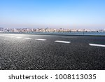 empty road with panoramic... | Shutterstock . vector #1008113035