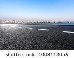 empty road with panoramic...   Shutterstock . vector #1008113056