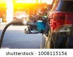 refueling a petroleum vehicle... | Shutterstock . vector #1008115156