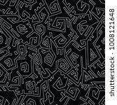 vector ancient mexican... | Shutterstock .eps vector #1008121648