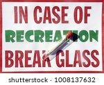 sign with marijuana cigarette... | Shutterstock . vector #1008137632