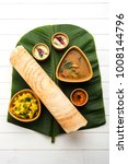 paper masala dosa is a south... | Shutterstock . vector #1008144796