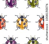 seamless pattern with... | Shutterstock . vector #1008150076