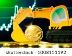 litecoin mining concept.... | Shutterstock . vector #1008151192