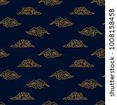 asian pattern. kabuki. japanese ... | Shutterstock .eps vector #1008158458