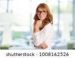 beautiful middle aged... | Shutterstock . vector #1008162526