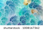 abstract fractal texture... | Shutterstock . vector #1008167362
