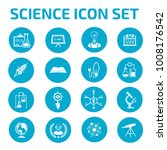 science icon set | Shutterstock .eps vector #1008176542