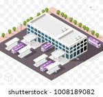 isometric high quality city... | Shutterstock .eps vector #1008189082