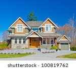 big luxury  home  in the...   Shutterstock . vector #100819762