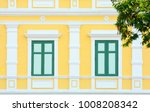 classic wood window at the... | Shutterstock . vector #1008208342