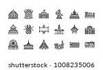 bangkok symbols and landmarks... | Shutterstock .eps vector #1008235006