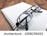 very strong eyeglasses with... | Shutterstock . vector #1008258202