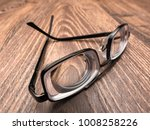 very strong eyeglasses with... | Shutterstock . vector #1008258226