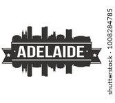 adelaide australia oceania... | Shutterstock .eps vector #1008284785