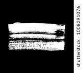 black brush stroke banner...   Shutterstock .eps vector #1008291076
