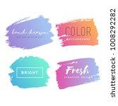 grunge hand drawn backgrounds...   Shutterstock .eps vector #1008292282