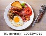 traditional english or irish... | Shutterstock . vector #1008294712