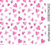 seamless watercolor pattern... | Shutterstock . vector #1008296302