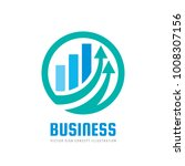 business finance logo template  ... | Shutterstock .eps vector #1008307156
