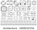 set of vector graphic elements... | Shutterstock .eps vector #1008310156