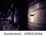vintage photo of old winery ... | Shutterstock . vector #1008310366