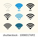 wi fi icon. connect symbol... | Shutterstock .eps vector #1008317692