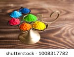 bright colours for indian holi... | Shutterstock . vector #1008317782