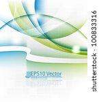 eps10 vector abstract elegant... | Shutterstock .eps vector #100833316