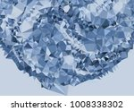 geometric low polygonal... | Shutterstock .eps vector #1008338302