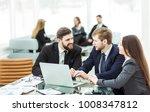 successful business team... | Shutterstock . vector #1008347812