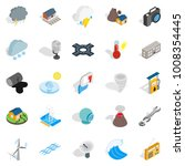 Vigor icons set. Isometric set of 25 vigor vector icons for web isolated on white background