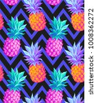 tropical seamless pattern with... | Shutterstock .eps vector #1008362272
