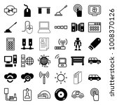 computer icons. set of 36... | Shutterstock .eps vector #1008370126