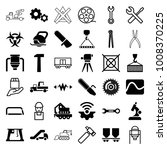 industry icons. set of 36... | Shutterstock .eps vector #1008370225