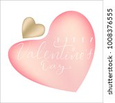 card by st. valentine's day...   Shutterstock .eps vector #1008376555