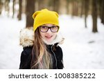stylish pre teen girl 10 12... | Shutterstock . vector #1008385222