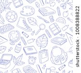 seamless background  pattern ... | Shutterstock .eps vector #1008388822