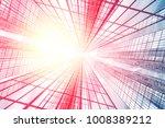 design element. 3d illustration.... | Shutterstock . vector #1008389212