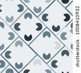 mosaic tiles background with... | Shutterstock .eps vector #1008410932