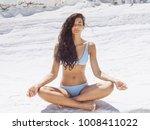 Woman Meditation Outdoors....