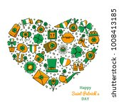 Saint Patrick\'s Day Heart...