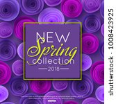 new spring collection... | Shutterstock .eps vector #1008423925