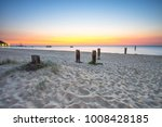 sunset at tangalooma island... | Shutterstock . vector #1008428185
