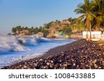 el tunco beach in salvador. el... | Shutterstock . vector #1008433885