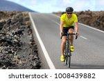 road bike cyclist man cycling.... | Shutterstock . vector #1008439882