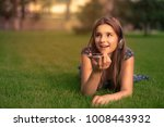 student using voice recognition ... | Shutterstock . vector #1008443932