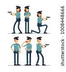 vector illustration set female... | Shutterstock .eps vector #1008448666
